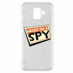Чохол для Samsung A6 2018 Hello i'm a spy