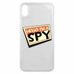Чохол для iPhone Xs Max Hello i'm a spy