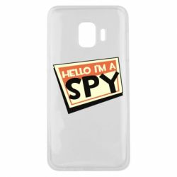 Чохол для Samsung J2 Core Hello i'm a spy
