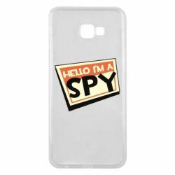 Чохол для Samsung J4 Plus 2018 Hello i'm a spy