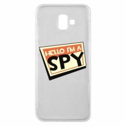 Чохол для Samsung J6 Plus 2018 Hello i'm a spy