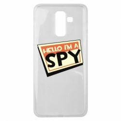 Чохол для Samsung J8 2018 Hello i'm a spy