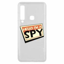 Чохол для Samsung A9 2018 Hello i'm a spy