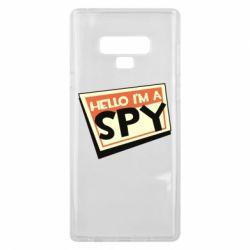 Чохол для Samsung Note 9 Hello i'm a spy