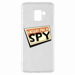 Чохол для Samsung A8+ 2018 Hello i'm a spy