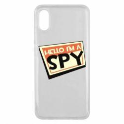 Чохол для Xiaomi Mi8 Pro Hello i'm a spy