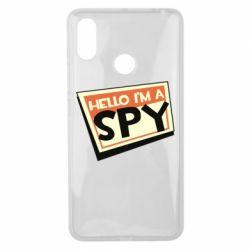 Чохол для Xiaomi Mi Max 3 Hello i'm a spy