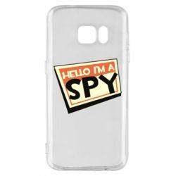 Чохол для Samsung S7 Hello i'm a spy