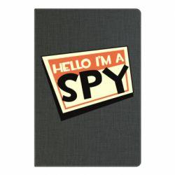 Блокнот А5 Hello i'm a spy
