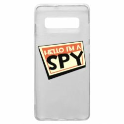 Чохол для Samsung S10+ Hello i'm a spy