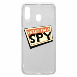 Чохол для Samsung A20 Hello i'm a spy