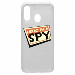 Чохол для Samsung A40 Hello i'm a spy
