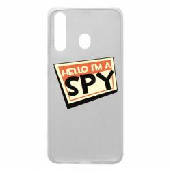 Чохол для Samsung A60 Hello i'm a spy