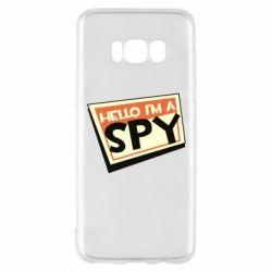 Чохол для Samsung S8 Hello i'm a spy