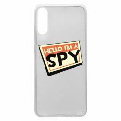 Чохол для Samsung A70 Hello i'm a spy