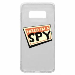 Чохол для Samsung S10e Hello i'm a spy