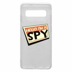 Чохол для Samsung S10 Hello i'm a spy