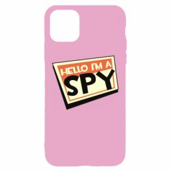 Чохол для iPhone 11 Hello i'm a spy