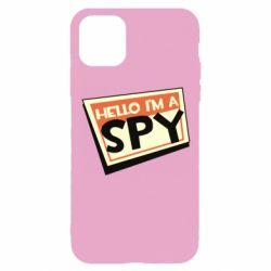 Чохол для iPhone 11 Pro Hello i'm a spy