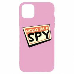 Чохол для iPhone 11 Pro Max Hello i'm a spy