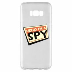 Чохол для Samsung S8+ Hello i'm a spy
