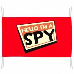 Прапор Hello i'm a spy