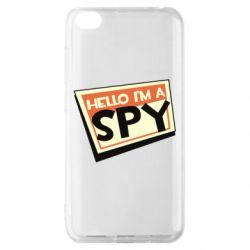 Чохол для Xiaomi Redmi Go Hello i'm a spy