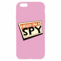 Чохол для iPhone 6/6S Hello i'm a spy