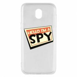 Чохол для Samsung J5 2017 Hello i'm a spy