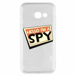 Чохол для Samsung A3 2017 Hello i'm a spy