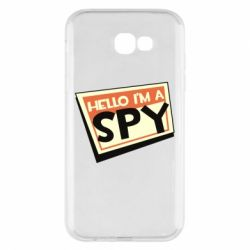 Чохол для Samsung A7 2017 Hello i'm a spy