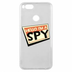 Чохол для Xiaomi Mi A1 Hello i'm a spy