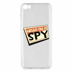 Чохол для Xiaomi Mi5/Mi5 Pro Hello i'm a spy