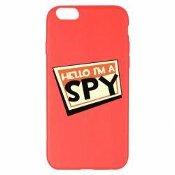 Чохол для iPhone 6 Plus/6S Plus Hello i'm a spy