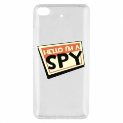 Чохол для Xiaomi Mi 5s Hello i'm a spy