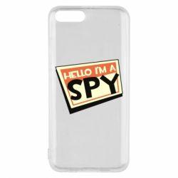 Чохол для Xiaomi Mi6 Hello i'm a spy