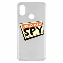 Чохол для Xiaomi Mi8 Hello i'm a spy