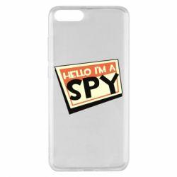Чохол для Xiaomi Mi Note 3 Hello i'm a spy