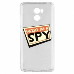 Чехол для Xiaomi Redmi 4 Hello i'm a spy