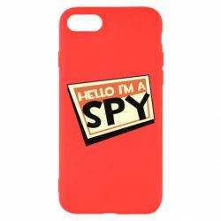 Чохол для iPhone 8 Hello i'm a spy