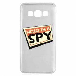 Чохол для Samsung A3 2015 Hello i'm a spy