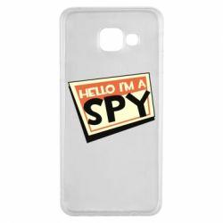 Чохол для Samsung A3 2016 Hello i'm a spy