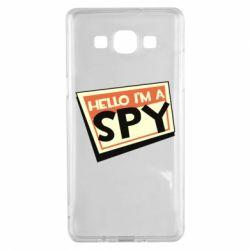 Чохол для Samsung A5 2015 Hello i'm a spy