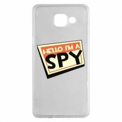 Чохол для Samsung A5 2016 Hello i'm a spy