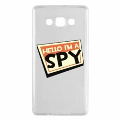 Чохол для Samsung A7 2015 Hello i'm a spy