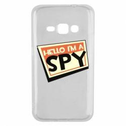 Чохол для Samsung J1 2016 Hello i'm a spy