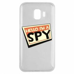 Чохол для Samsung J2 2018 Hello i'm a spy