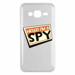 Чохол для Samsung J3 2016 Hello i'm a spy