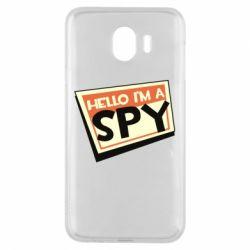 Чохол для Samsung J4 Hello i'm a spy