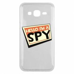 Чохол для Samsung J5 2015 Hello i'm a spy